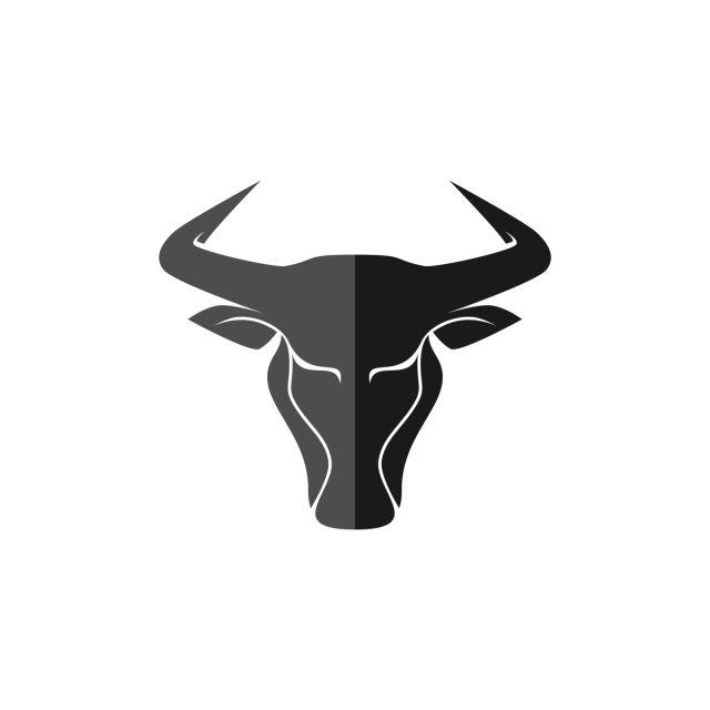 Pin Em Bull Head Logo Design For Business
