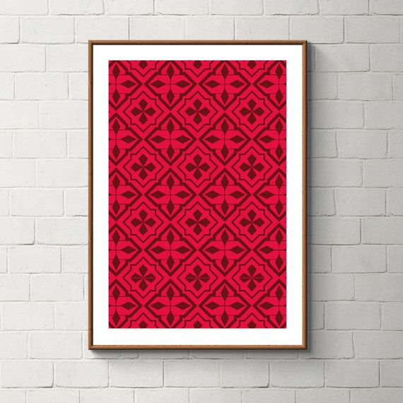 034_PrintAzulejos, Azulejos, Poster, Wall, Printable, Portugal, Pattern, Tiles, Photography, Instant download
