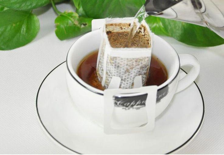 50/пакет портативный чашка кофе фильтр пакеты/висит чашки кофе фильтры работают фильтры для кофе, кофе и чай инструментыкупить в магазине Boeng CoffeeнаAliExpress