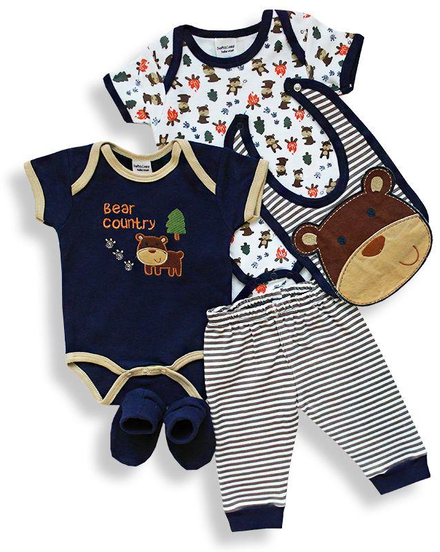 5dielny set pre bábätká - MEDVEDÍK http://www.milinko-oblecenie.sk/komplety-pre-babatka/strana-2/ #kojeneckyset #dojcenskyset