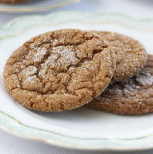 For some families, Christmas just wouldn't be Christmas without Ginger-Molasses Cookies. These cookies are chewy with crisp edges with just the right amount of spicy bite.