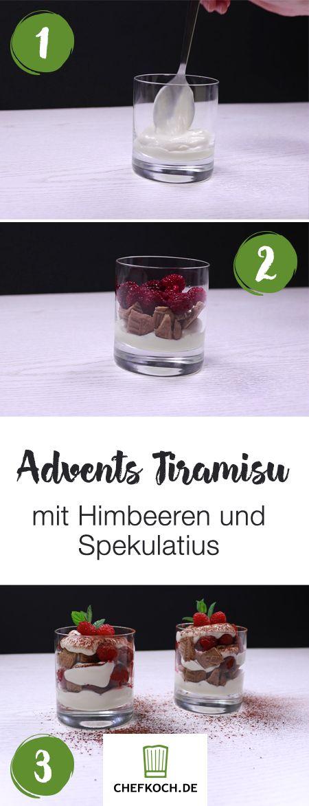 1, 2, 3 und fertig! Dieses wunderbare Advents-Dessert gelingt in Minuten. Das Rezept mit Video findet ihr wie immer auf Chefkoch.de.