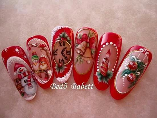 Bedo Babett Christmas Nails