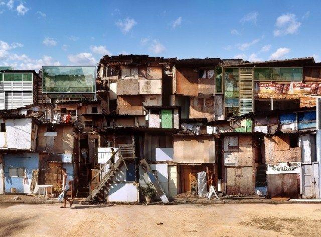 Fotomontage Bilder-Architektur Collage-dionisio gonzalez-architektur-Futuristisch