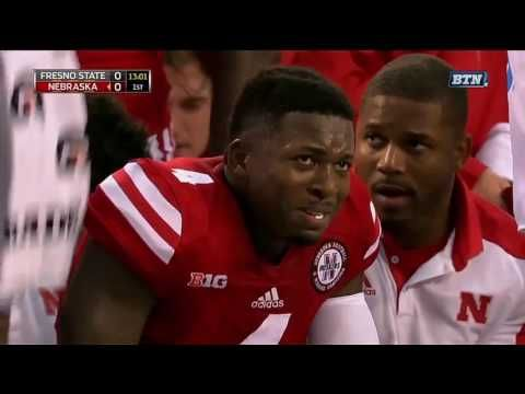 Huskers missing man formation to honor Sam Foltz (Radio Call) - YouTube