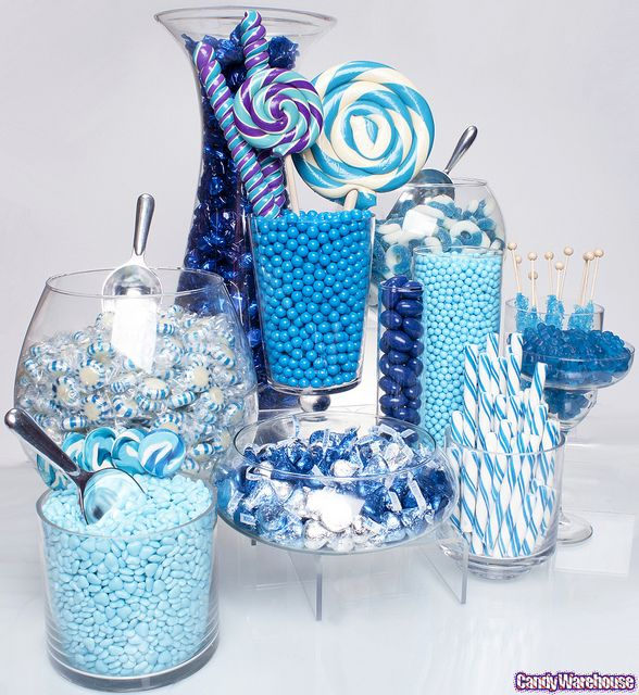 Blue Candy Buffet | Blue Candy Buffet! | Flickr - Photo Sharing!