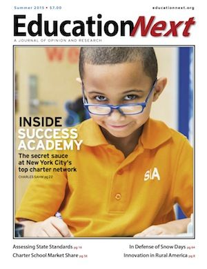 Education Next : Education Next is a journal of opinion and research about education policy.