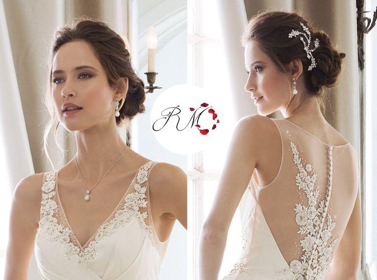 144 best adding straps to a wedding gown adding sleeves for Adding straps to wedding dress