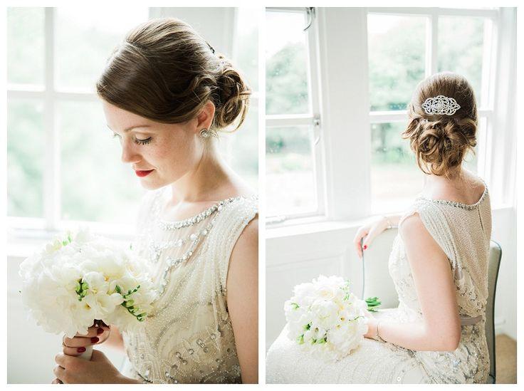 Stunning Jenny Packham Esme Dress | Woodlands Hotel Leeds Wedding | www.clare-robinson.co.uk