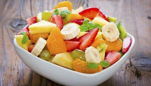 Nyári finom gyümölcssaláta recept