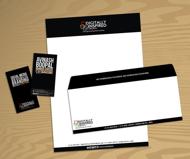 DI Corporate Identity #digitallyinspired #design