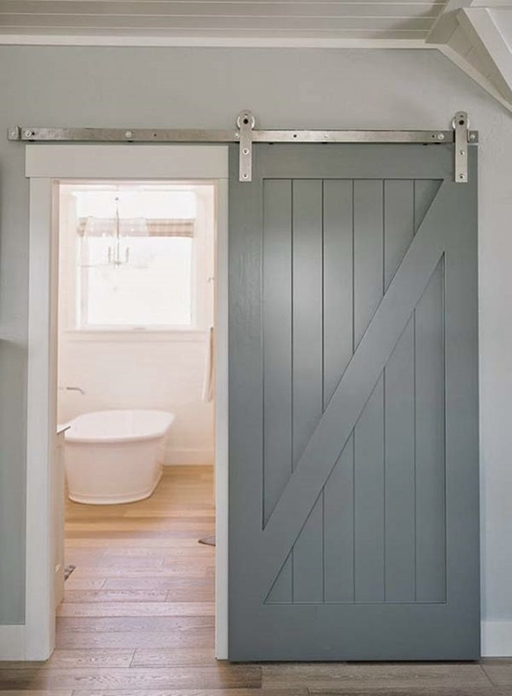 25 great ideas about loft closet on pinterest attic for Barn loft doors
