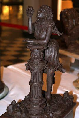#chocolate sculpture http://www.hebertcandies.com/