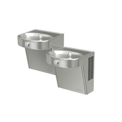 Halsey Taylor HVRHD 14 Gauge Bi-Level Vandal-Resistant HVR8HD-BL Drinking Fountain-8756080083 - The Home Depot