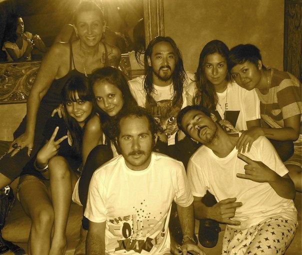 Steve Aoki & Bali Family