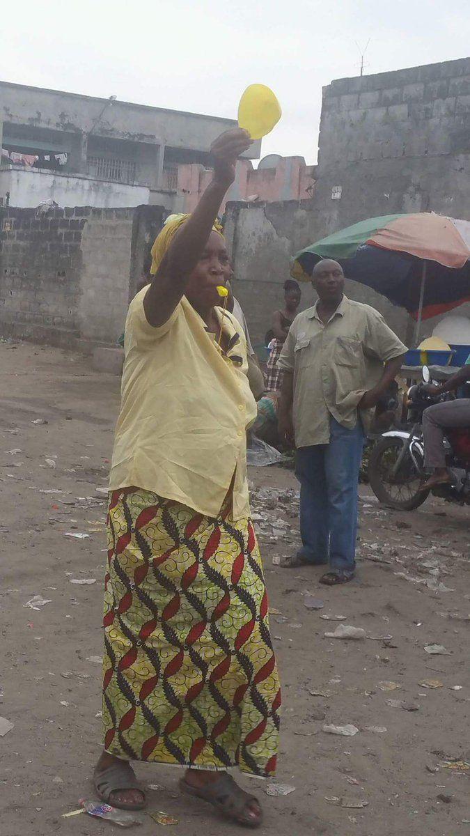 20161019 #RDC #kinshasa #Goma CARTON JAUNE DES CONGOLAIS AU POUVOIR AUTOCRATIQUE: LA VILLE MORTE DU 19/10/2016