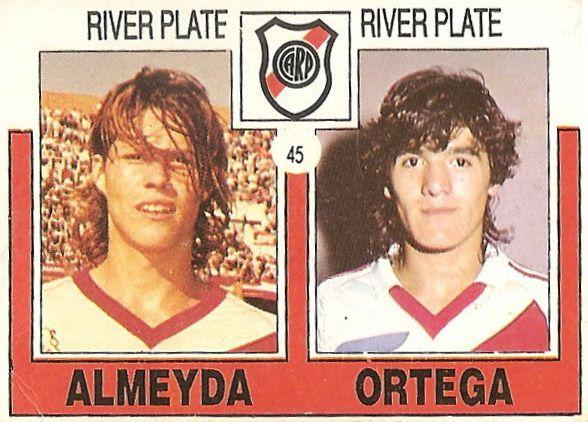 Almeyda/Ortega - River Plate