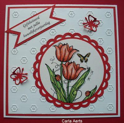 carlasknutselateljeeke: Rode tulpen
