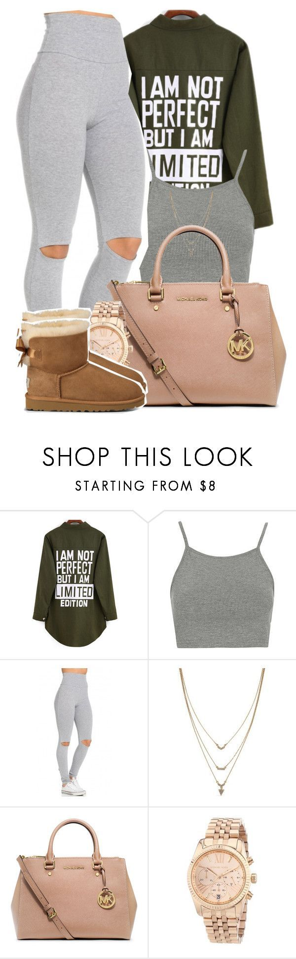 Falling so fast Im afraid of you, so I lied to keep you from breaking my heart by mindlesspolyvore ❤ liked on Polyvore featuring Topshop, Jessica Simpson, MICHAEL Michael Kors, Michael Kors and UGG Australia