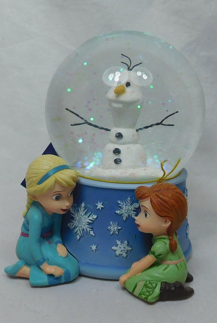 Disney Schneekugel mit Musik Frozen Eiskönigin Anna Elsa Musikkugel Westland   eBay