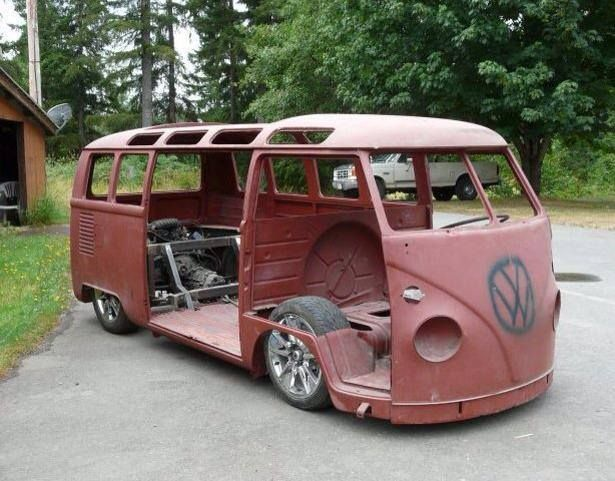 T1 VW Samba bus