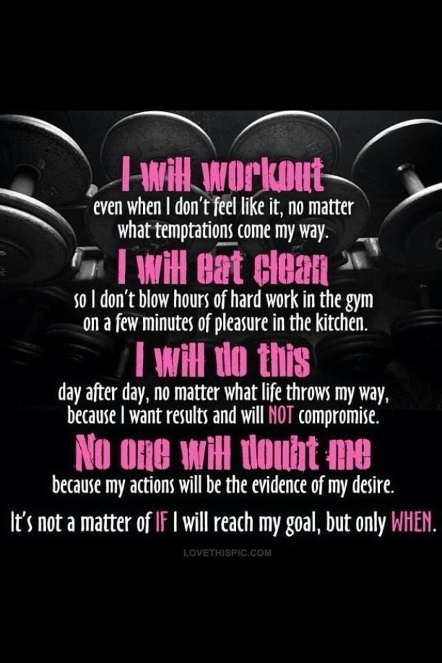 This should be our daily mantra! #FITspiration #oxygenmag