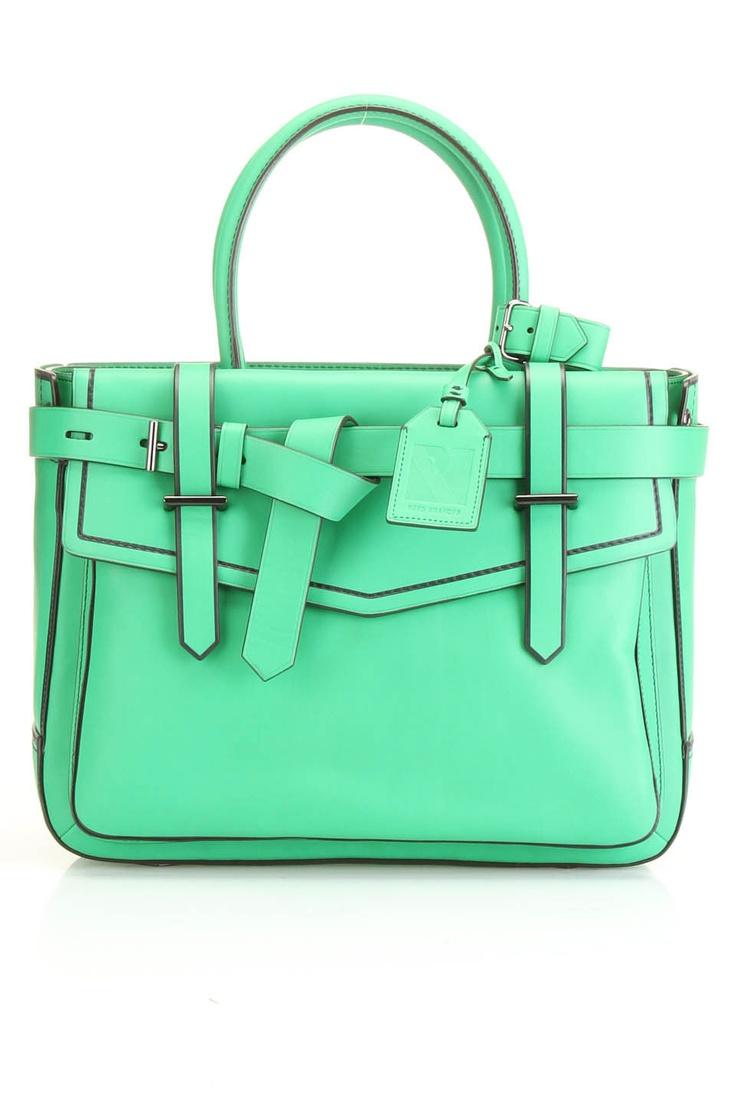 Reed Krakoff Boxer Handbag In Zephyr Mint