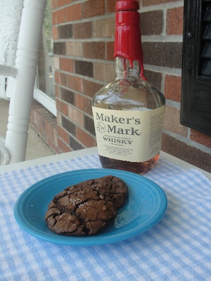HerKentucky: Double Chocolate Chip Cookies with Maker's Mark and Sea Salt: Double Chocolates, Chocolate Chips, Chocolates Chips Cookies, Recipes Cookies, Bourbon Cookies, Sea Salts, Bourbon Chocolates, Food Recipe, Chocolate Chip Cookies