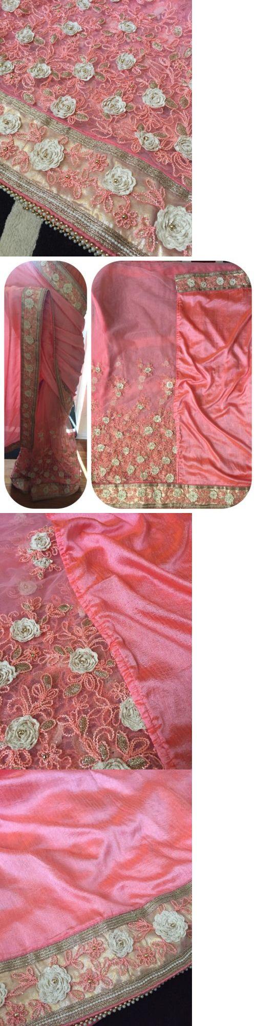 Sari Saree 155250: Designer Party Wear Wedding Indian Pakistani Saree Sari Bollywood Ethnic -> BUY IT NOW ONLY: $114 on eBay!