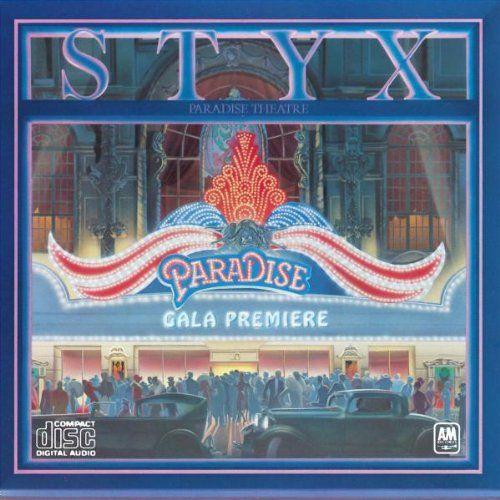 Image detail for -Styx Paradise Theatre Album Cover, Styx Paradise Theatre CD Cover ...