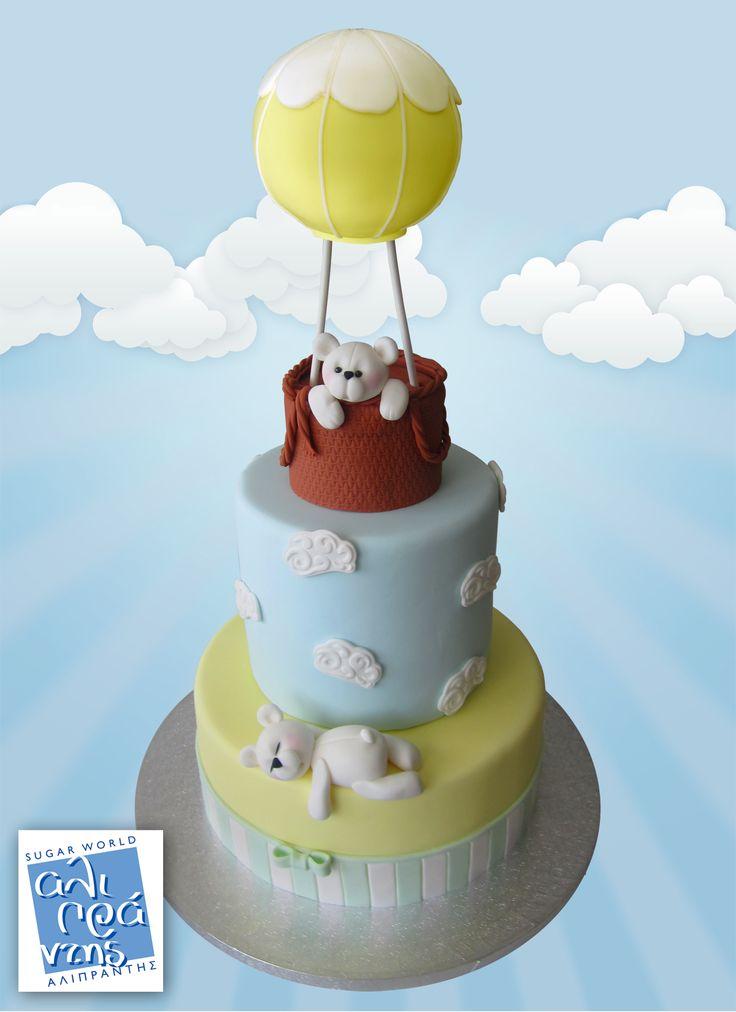Σεμινάριο Αερόστατο από την Sugar World Αλιπράντης! Θα επικαλύψετε και θα διακοσμήσετε μια 3-όροφη ψεύτικη τούρτα με πάστα ζάχαρης. Θα φτιάξετε δύο ζαχαρωτά αρκουδάκια και θα ολοκληρώσετε με την δημιουργία ενός χαρούμενου αερόστατου! Το σεμινάριο θα πραγματοποιηθεί την Τρίτη 7 Ιουνίου 2016