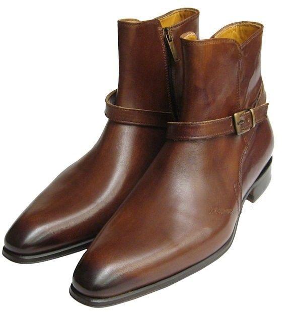 84d3c3a79f6e Handmade Men Brown Jodhpurs Boots