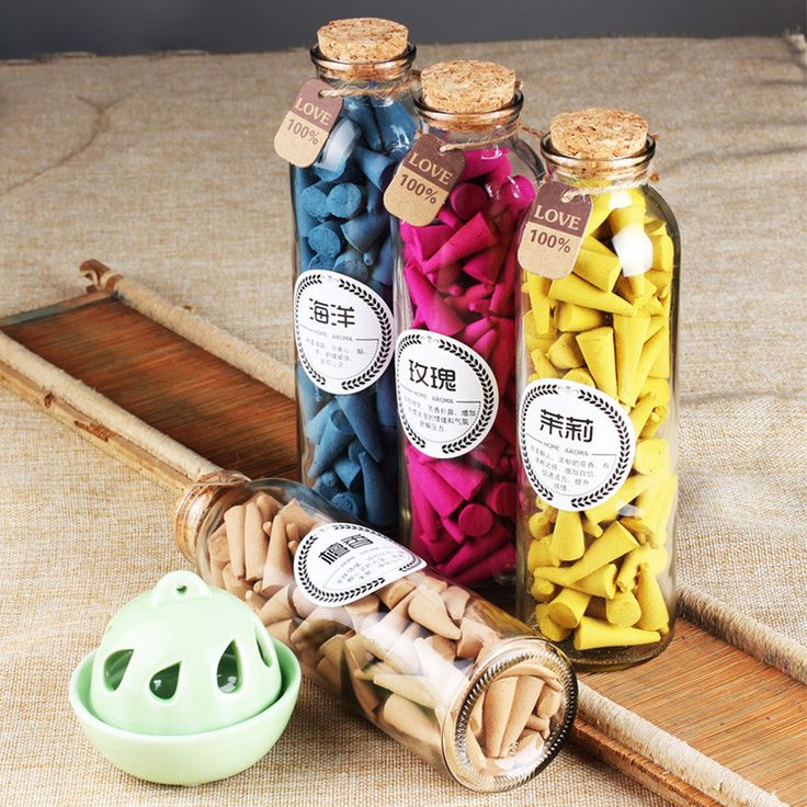 A Bottle of Natural Chinese Incense Cones - 95 pcs per bottle. Natural Pagoda Aroma  Material: natural wood mechanism, natural plant essential oil  Specifications: about 97 grains / bottle, high about 3cm, width of about 1.4cm  Time: about 10-15 minutes or so  Suitable: Buddha Hall, bedroom, room, office, restaurant, health club, hotel etc.  Application: LimbsType: Cone IncenseMaterial: Artificial ScentUse: Anti-OdourClassification: Smokeless CandleRegional Feature: Chinese IncenseQuantity…