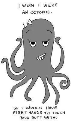 Octopus humor. LOL