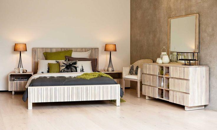Slat Bedroom Furniture by Sorenson Furniture from Harvey Norman New Zealand