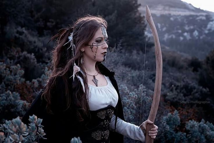 Celtic archeress