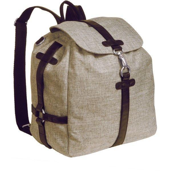 Sac à dos à langer Lassig Backpack Green Label Solid choco mélange