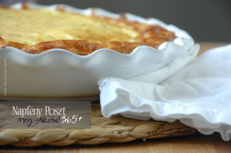Day 128: Leek quiche, with sweet potato