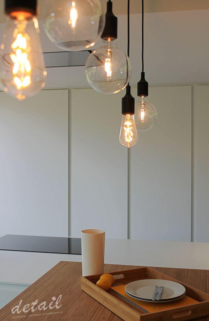 Detail verlichting keuken #verlichting #keuken #modern #interieurontwerp