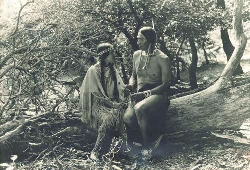 1920 ALL-NATIVE CAST SILENT FILM 'THE DAUGHTER OF DAWN' PREMIERES  As ICTMN reported last year, a print of The Daughter of Dawn, the 1920 silent film with an all-Native cast was recently discovered. More than 300 Kiowa and Comanche took part in the production, using their own clothing, horses tipis, and everyday items that they brought with.