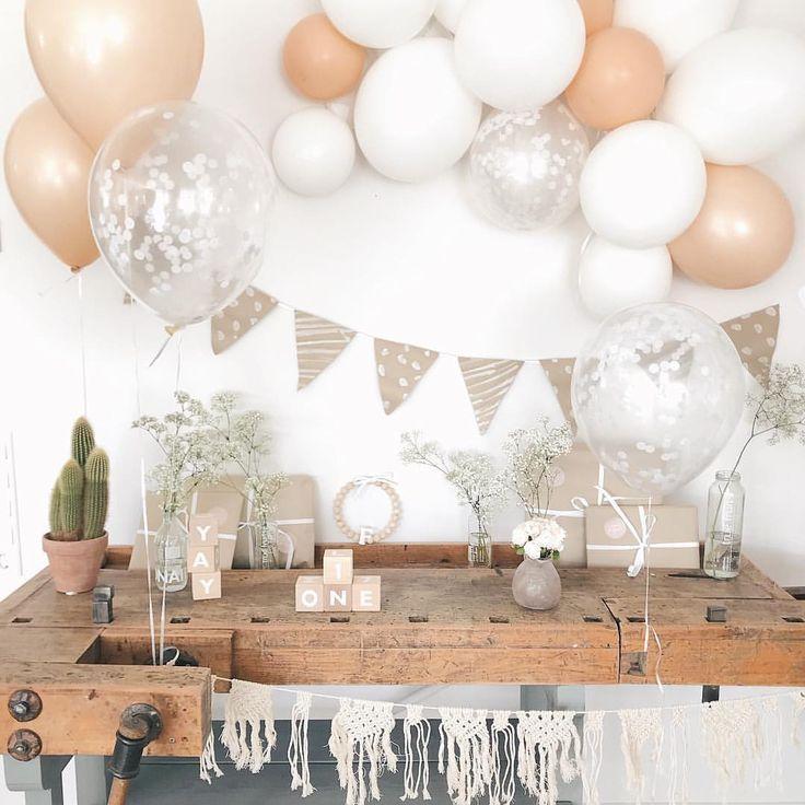 Kindergeburtstag Baby Party Geburtstag Idee Deko Dekoration