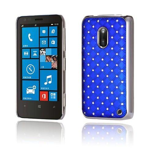 Stars (Tummansininen) Nokia Lumia 620 Suojakuori - http://lux-case.fi/stars-tummansininen-nokia-lumia-620-suojakuori.html