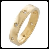 Anello in Oro Giallo con Diamanti    Peso dell'oro: 4,30 grammi  Pietra: Diamanti  taglio brillante  Carati: 0,080  Purezza: VS-SI  Colore: G-H    http://www.torinogioielli.com/anelli/anello-in-oro-giallo-con-diamanti-ab669g