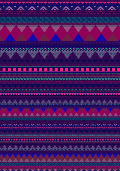 KNITTED AZTEC PATTERN