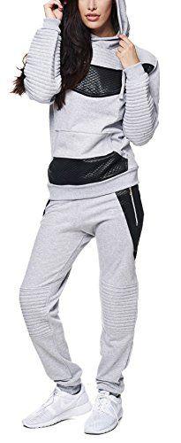 #Damen #Jogginganzug #Jogging #Hose #Jacke #Stripe #Ring #Sportanzug #Sporthose #Fitness #Hoodie #Grau #L Damen Jogginganzug Jogging Hose Jacke Stripe Ring Sportanzug Sporthose Fitness Hoodie Grau L, , , , , ,