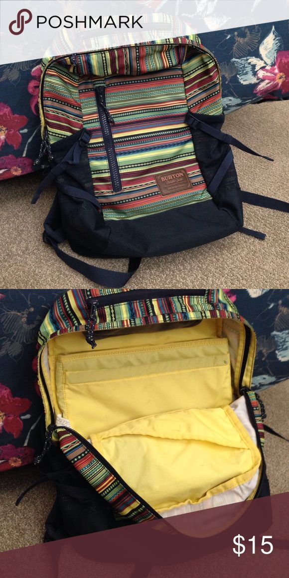 Burton Backpack Gently used, colorful backpack. In…