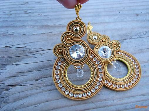 Ridgways / Hoop Collection - Big Gold ...soutache