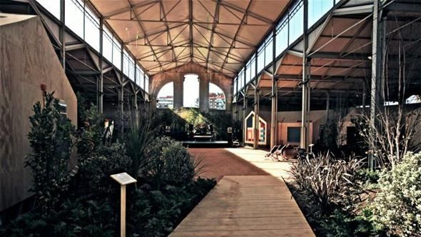 38 best industrial landscaping images on pinterest contemporary architecture industrial - Garden center madrid ...