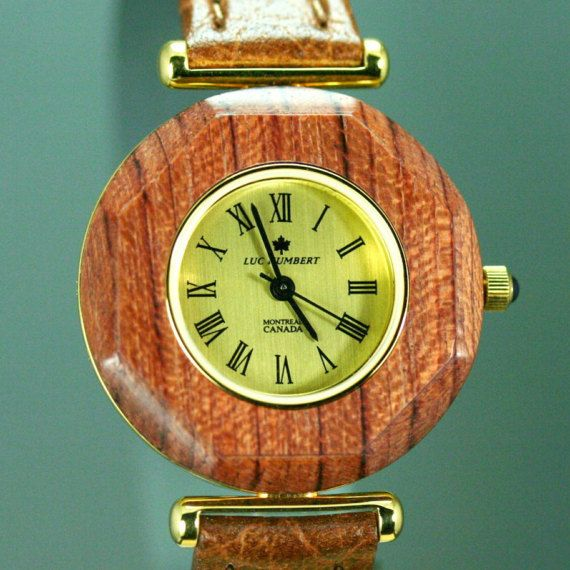 Women's watches Wood watch leather Brown by HUMBERTcreations