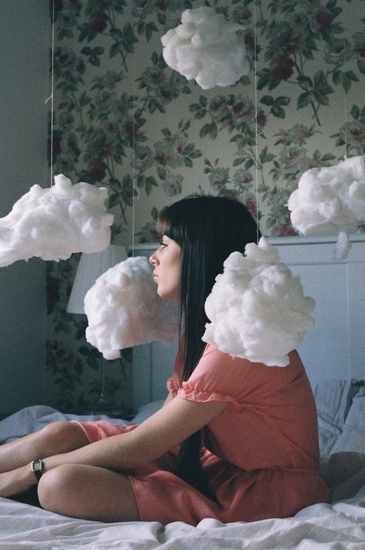 {floating amongst the clouds} by Lauren Maccabee